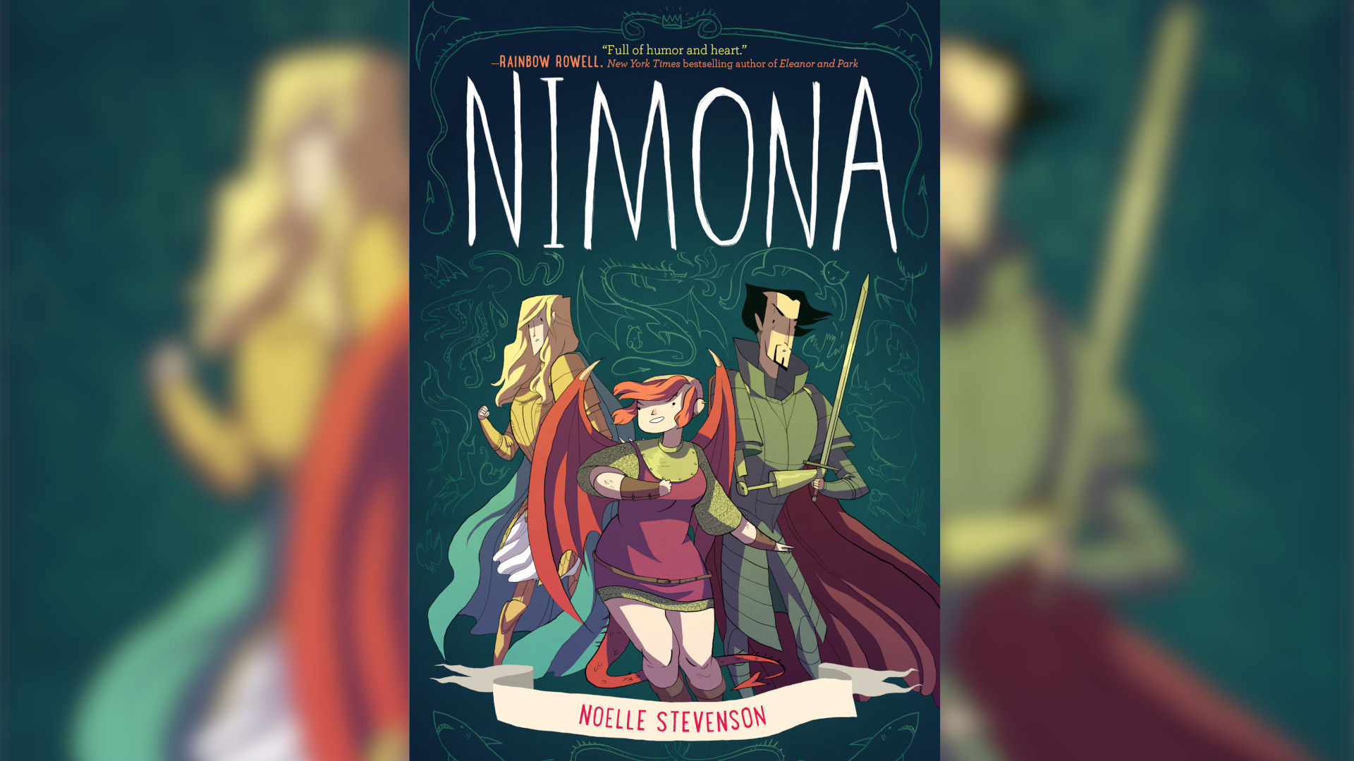 Nimona: A quest for queer love coded into a medieval adventure