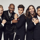 The Fab Five of Netflix's Queer Eye pose for the camera