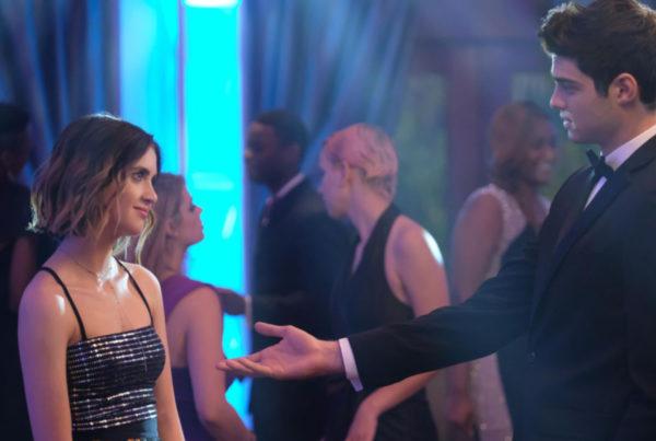 The Perfect Date stars Laura Marano and Noah Centineo.